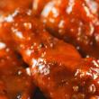 Alas de pollo en salsa de búfalo
