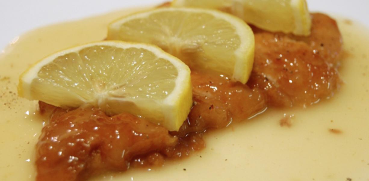 Receta y preparación de Pollo al Limón muy fácil de hacer