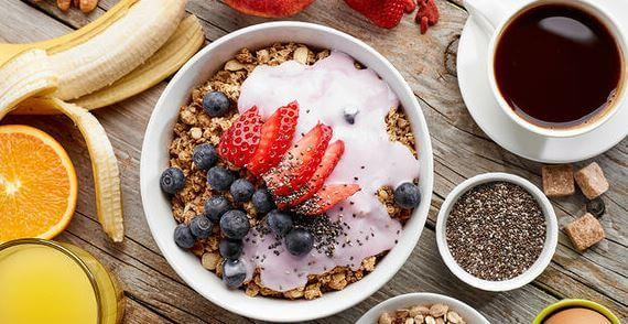 Desayuno Fitness con proteínas